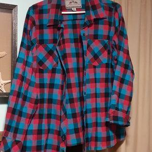 Legendary Whitetails Plaid Flannel